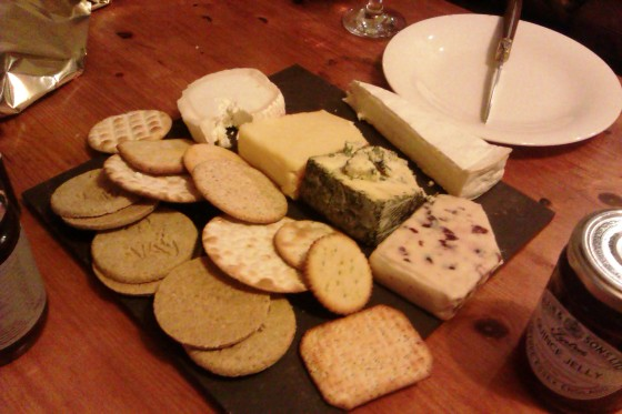 Christmas Cheese - Brie, Blacksticks, Goat's, Cranberry Stilton, Applewood Smoked Cheddar