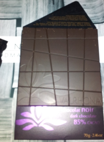 Valrhona Grand Cru Abinao 85% Dark Chocolate